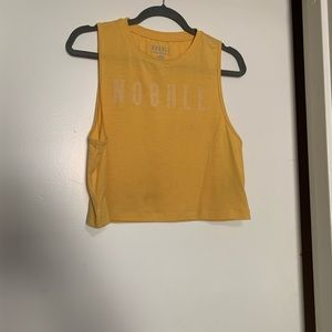 No Bull Muscle Tank - vintage yellow